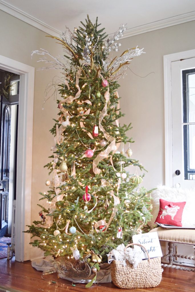 Rose Gold Vintage Glam Christmas Home Tour Wynn Amp Roo